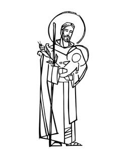 San José dibujo / Saint Joseph drawing