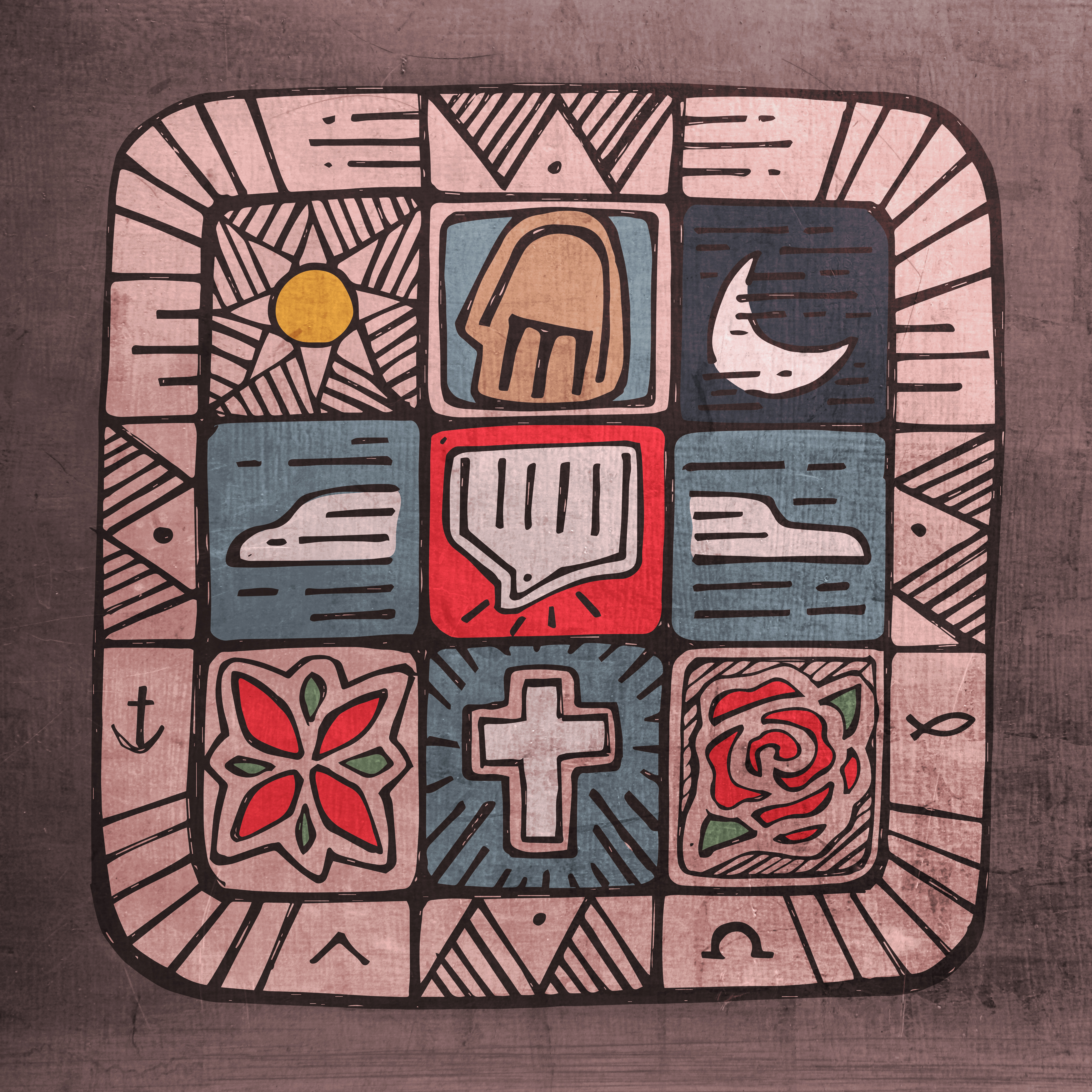 Símbolos cristianos Christiaan symbols