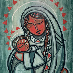 María y Niño Jesús / Mary and Baby Jesus
