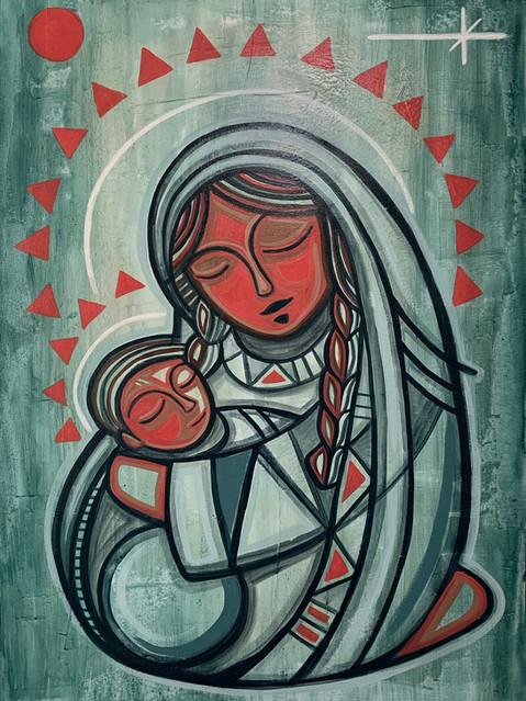 Maria y Niño Jesus _ Mary and Baby Jesus