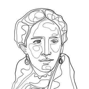 Conchita Cabrera dibujo