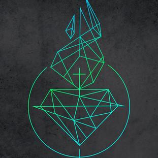 Sagrado Corazón de Jesús diseño símbolo / Jesus Sacred Heart symbol design