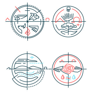 Simbolos cristianos contemporaneos a 201