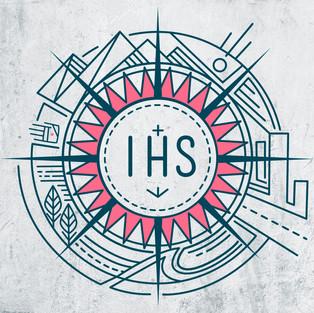 Monograma Jesuita IHS / Jesuit IHS monogram