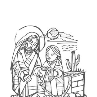 Jesús y Samaritana