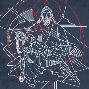Santísima Trinidad arte / Holy Trinity a