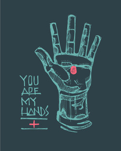You are my hands design