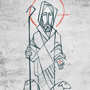 Jesús Buen Pastor monk