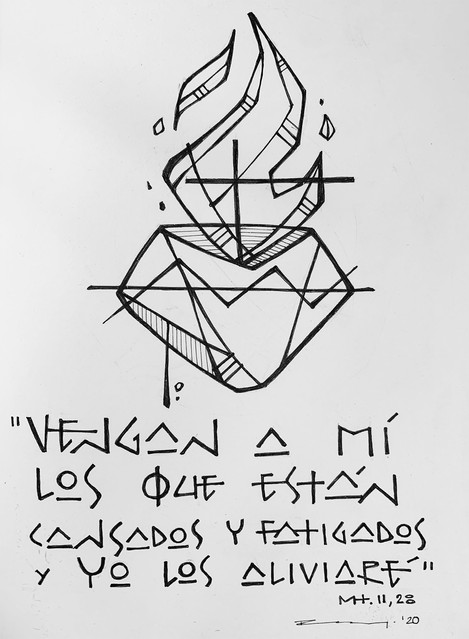 Mt. 11, 28 Vengan a Mí / Come to Me