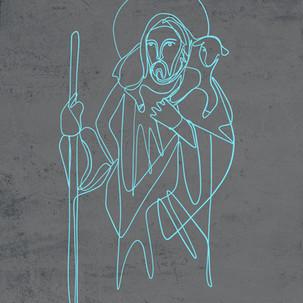 Jesus Buen Pastor diseño / Jesus Good Sh