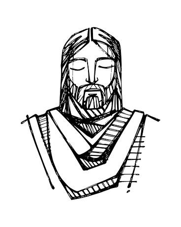 Jesús dibujo / Jesus Christ drawing