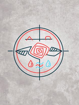 María símbolo diseño / Mary symol design