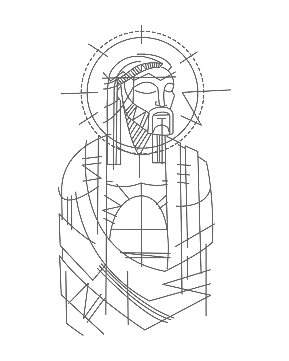 Jesus en su Pasión dibujo / Jesus Christ Passion drawing