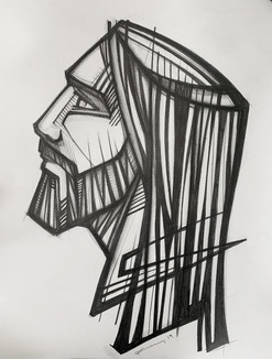 61 x 46 cms aprox. / Grafito sobre papel / Graphite on paper / iknuitsin@gmail.com