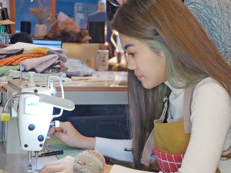 母親舊衣大改造—臥蠶的裁縫初體驗