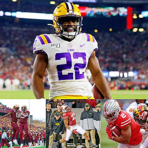 2019 College Football Week 11 Summary and Honor Roll List