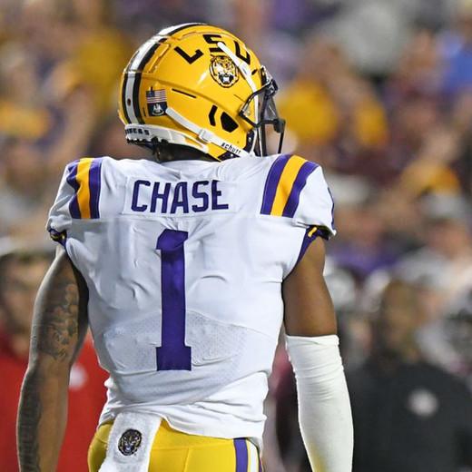 2021 NFL Draft Prospect - WR Ja'Marr Chase