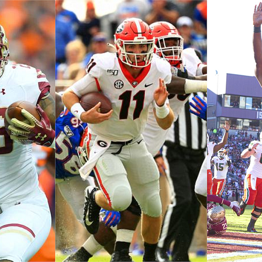 2019 College Football Week 10 Summary and Honor Roll List