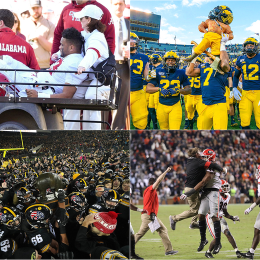 2019 College Football Week 12 Summary and Honor Roll List