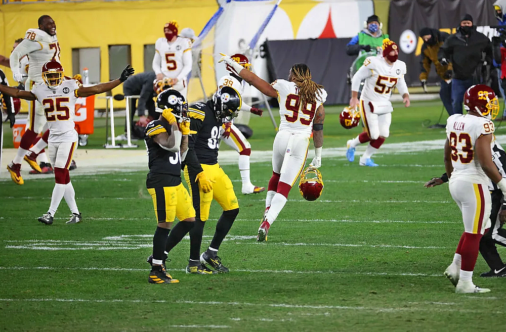 Washington comes away with a 23-17 victory over the Steelers