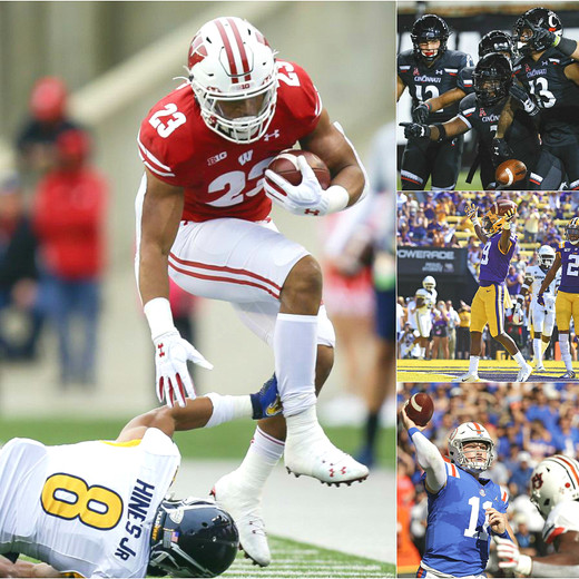 2019 College Football Week 6 Summary and Honor Roll List