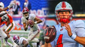 2021 College Football Week 1 Top Performers