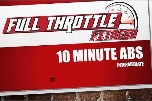 10 Minute Abs Intermediate