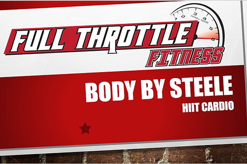 Body By Steele HIIT Cardio