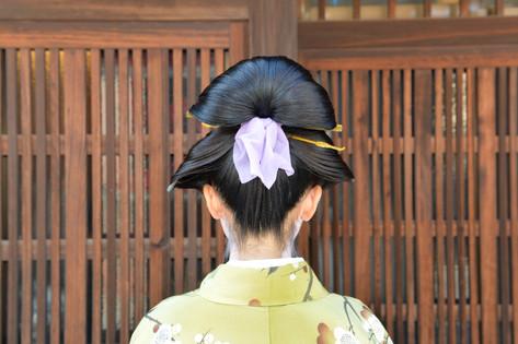 江戸時代後期 丸髷