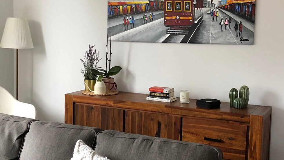 Melbourne City Circle In Modern Home