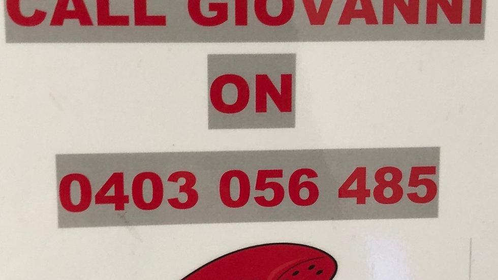CALL GIOVANNI