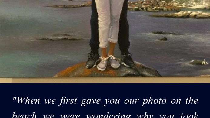 Portrait of A Young Love Couple in Titanic Theme