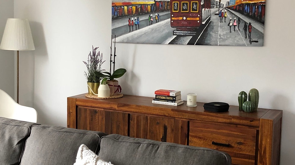 City Circle In Open Olan Living Room