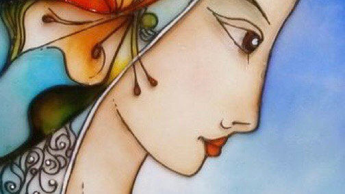 Post-Picasso Dame of Eternal Beauty
