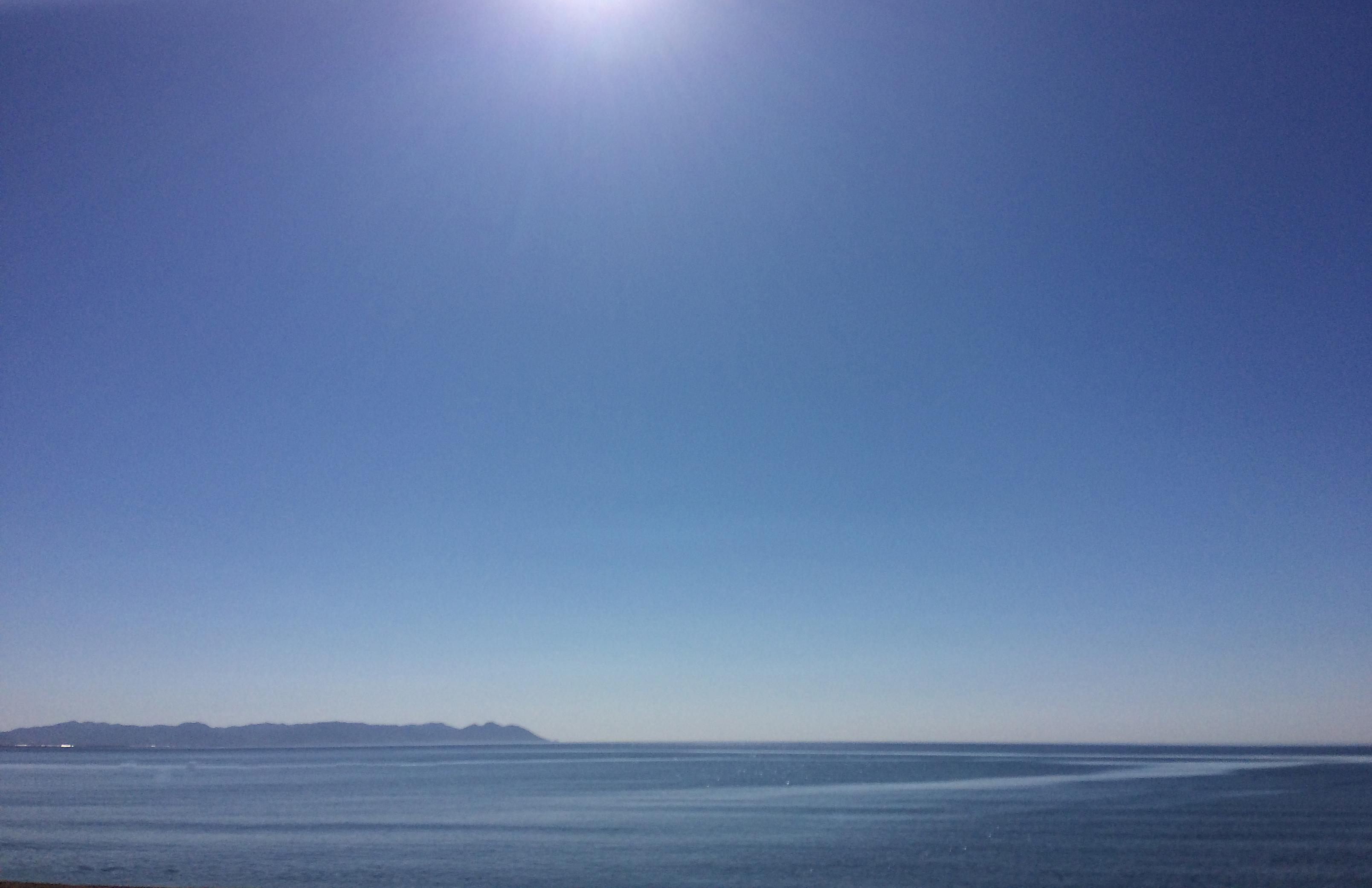 Frente a Cabo de Gata