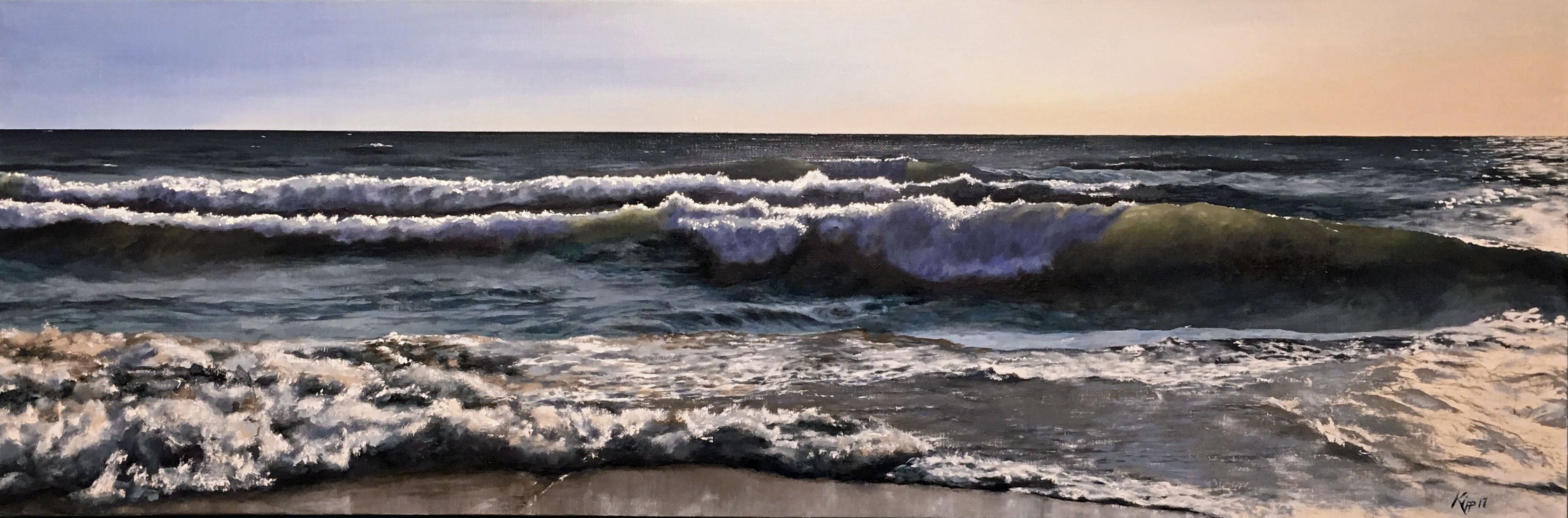 Lake Huron Waves Breaking At Lex...