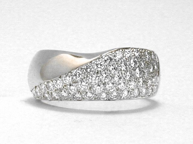 Pave' Diamond Ring