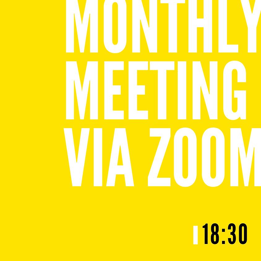 CIWOT Monthly Meeting via Zoom   April