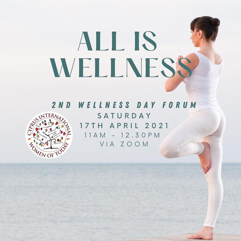 All is wellness!   April