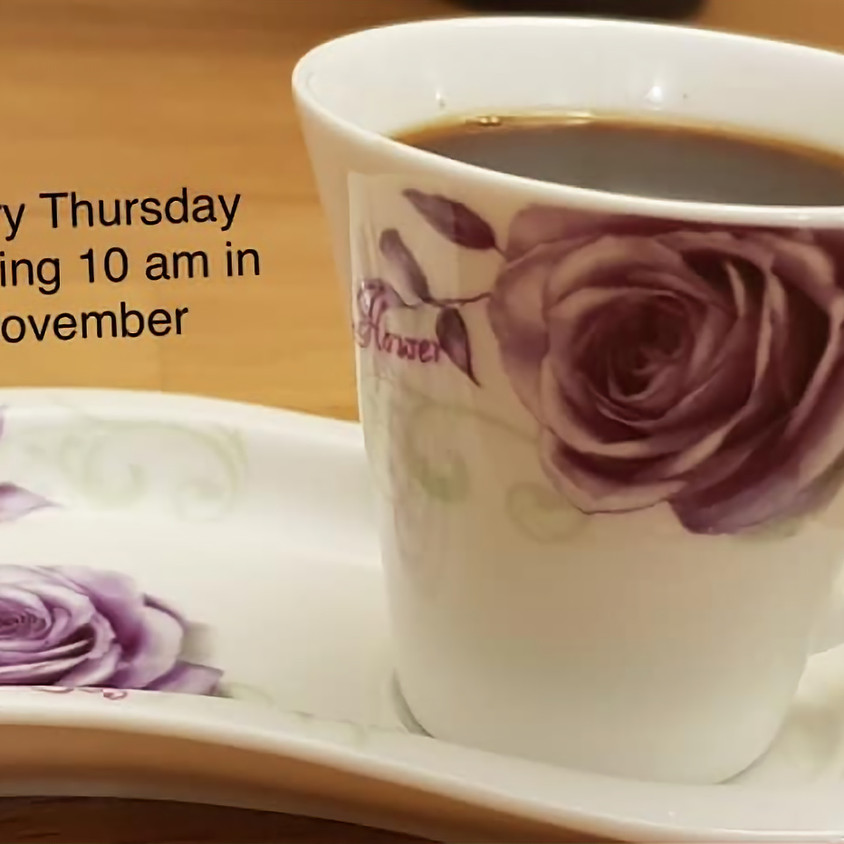 Coffee Morning with Astrid via Zoom