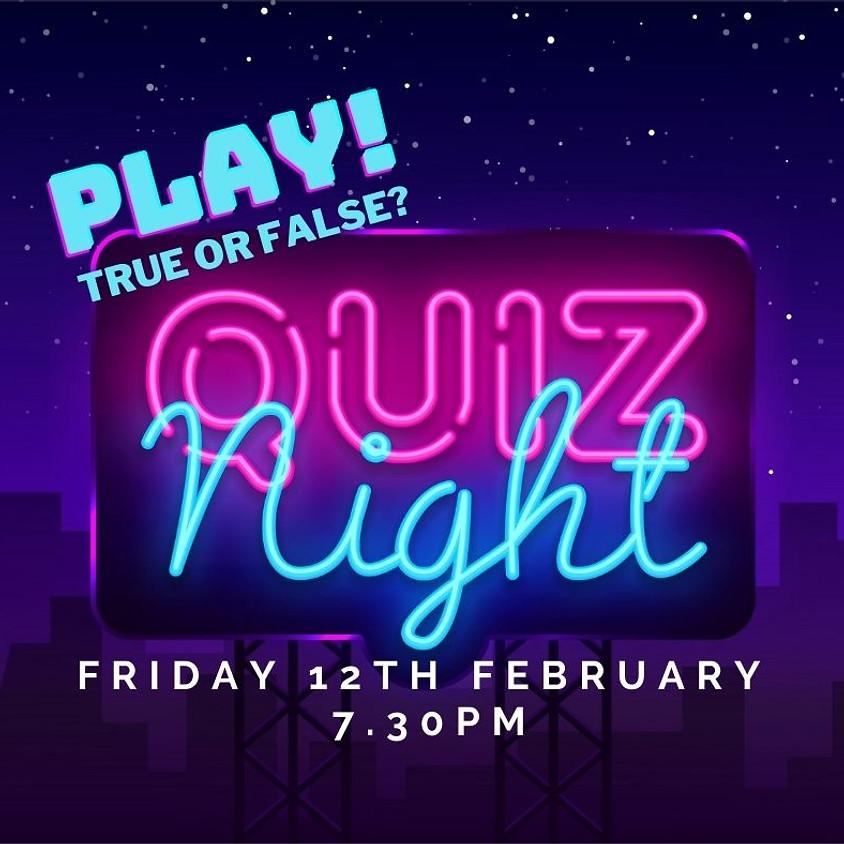 Quiz Night: True or false?