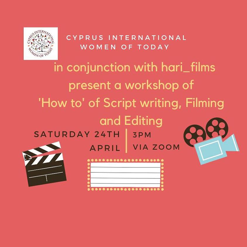 CIWOT Film, Script and Editing workshop