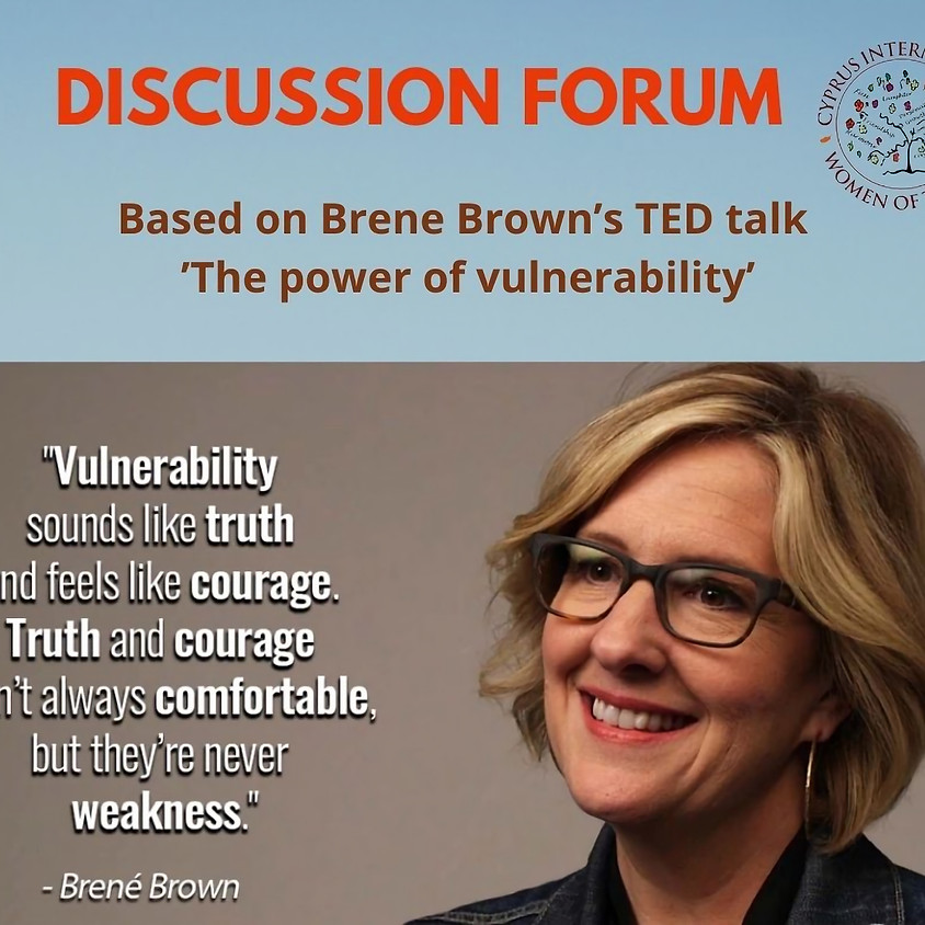 Vulnerability, truth & courage in today's world