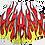 "Thumbnail: ""Flame Boi""  Athletic Shorts"