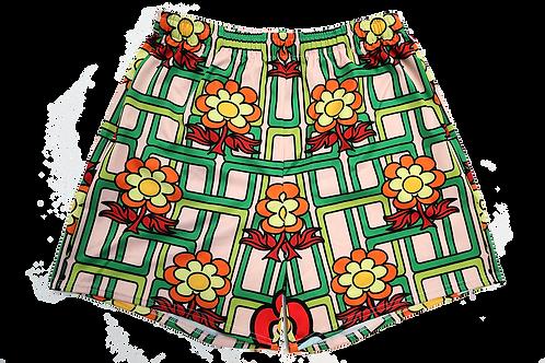 """Flower Power""  Athletic Shorts"