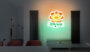 Flower-green-orange-beige_room23_dark.jp