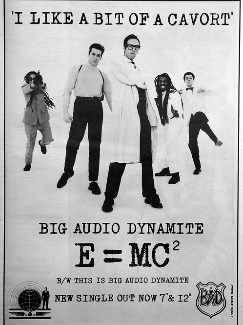 Big Audio Dynamite ‎– E = MC²