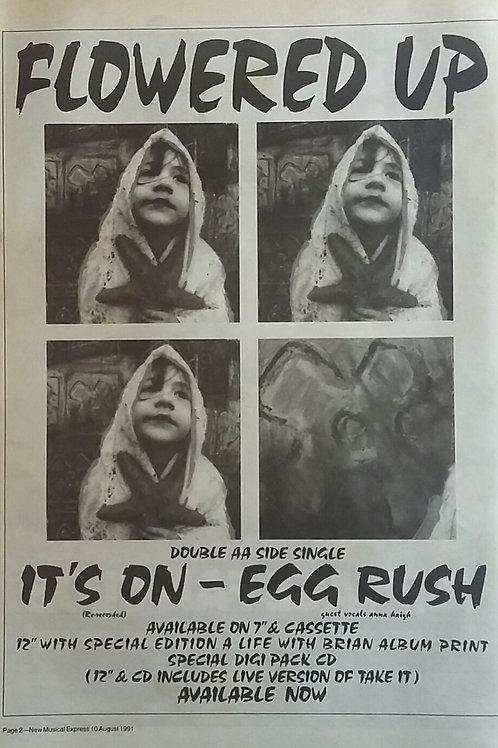 Flowered Up – It's On - Egg Rush
