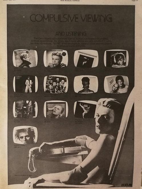 David Bowie - Compulsive Viewing