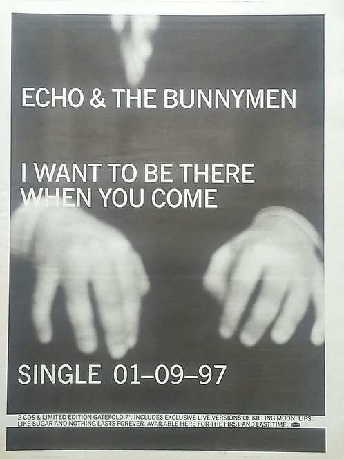 Echo & The Bunnymen - I Want To Be There When You Come